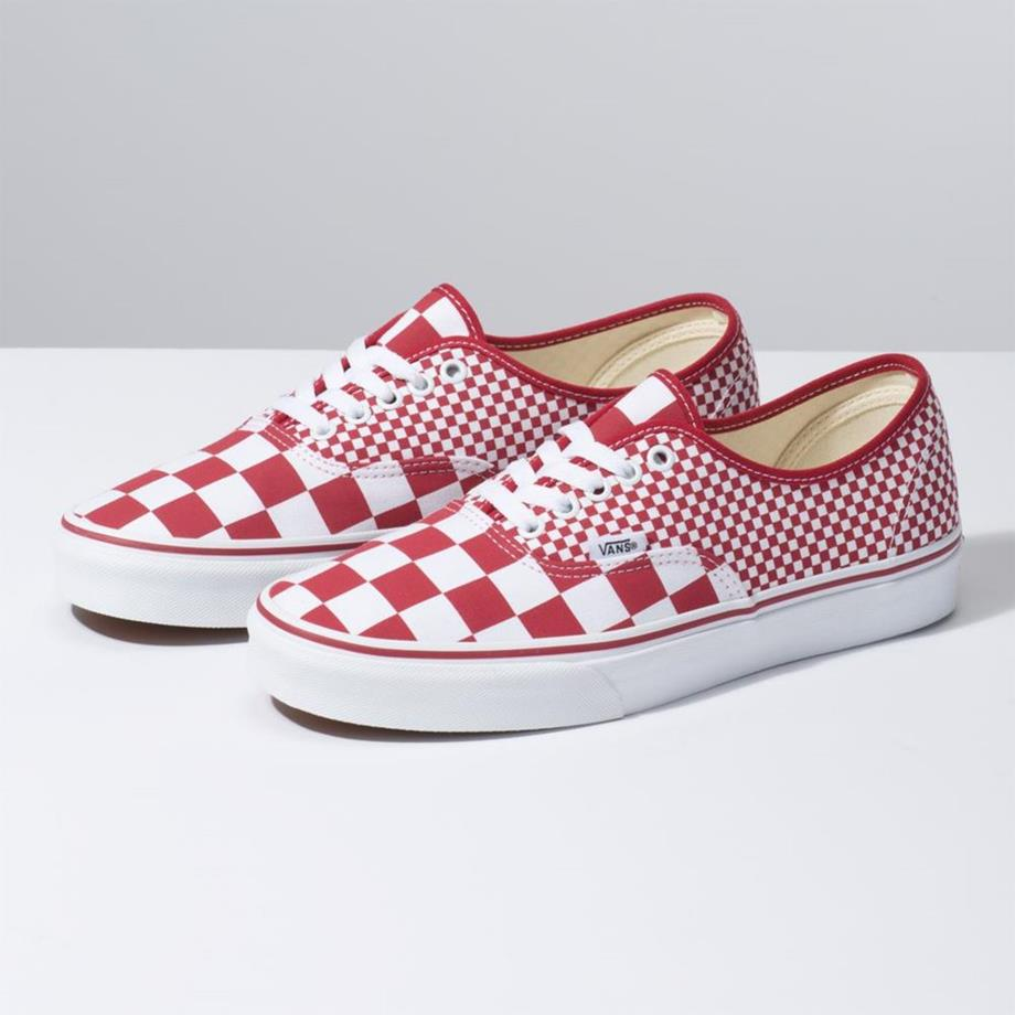 VANS Việt Nam - VANS AUTHENTIC MIX CHECKERBOARD RED VN0A38EMVK5