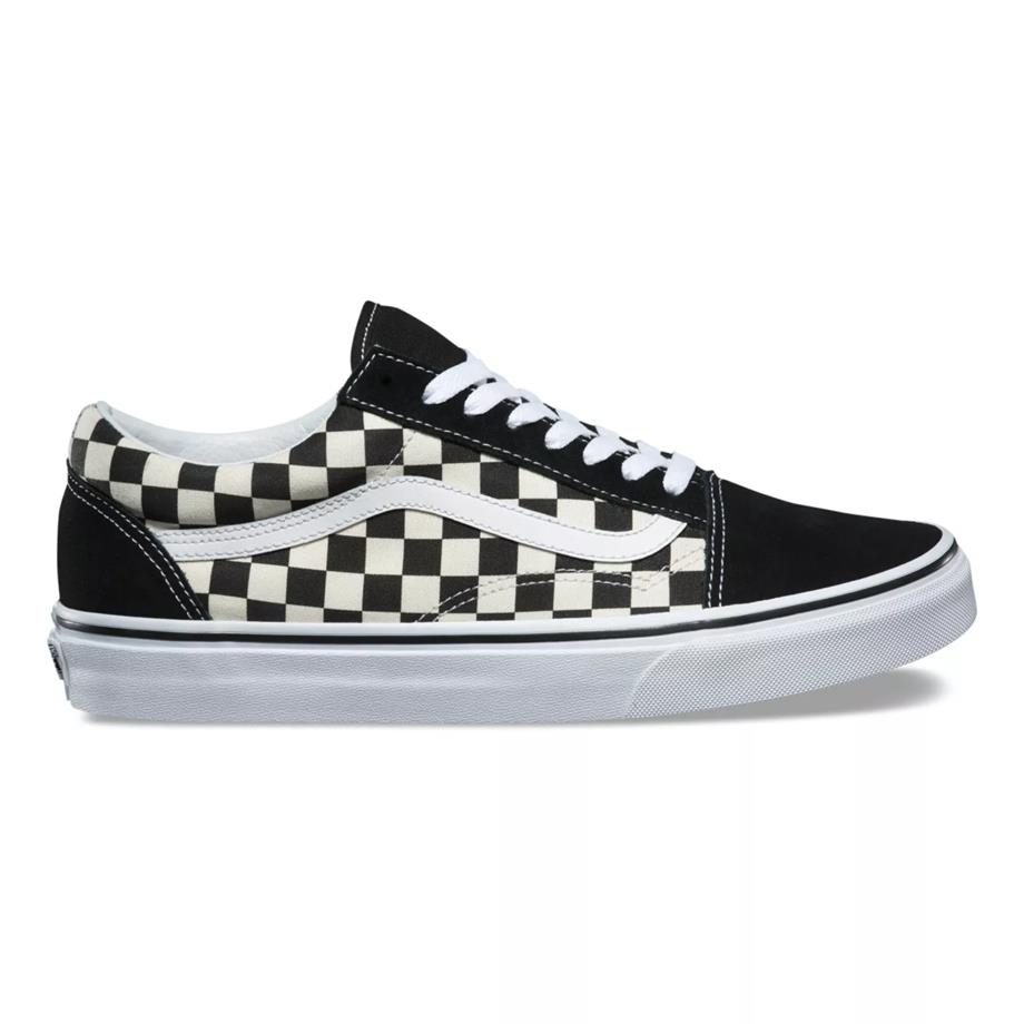 VANS OLD SKOOL CHECKERBOARD BLACK/WHITE