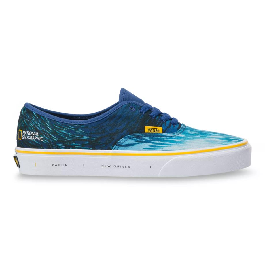VANS X NATIONAL GEOGRAPHIC AUTHENTIC OCEAN/TRUE WHITE