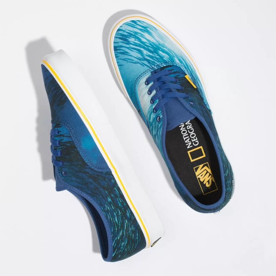 VANS VN - VANS X NATIONAL GEOGRAPHIC AUTHENTIC OCEAN VN0A2Z5I002