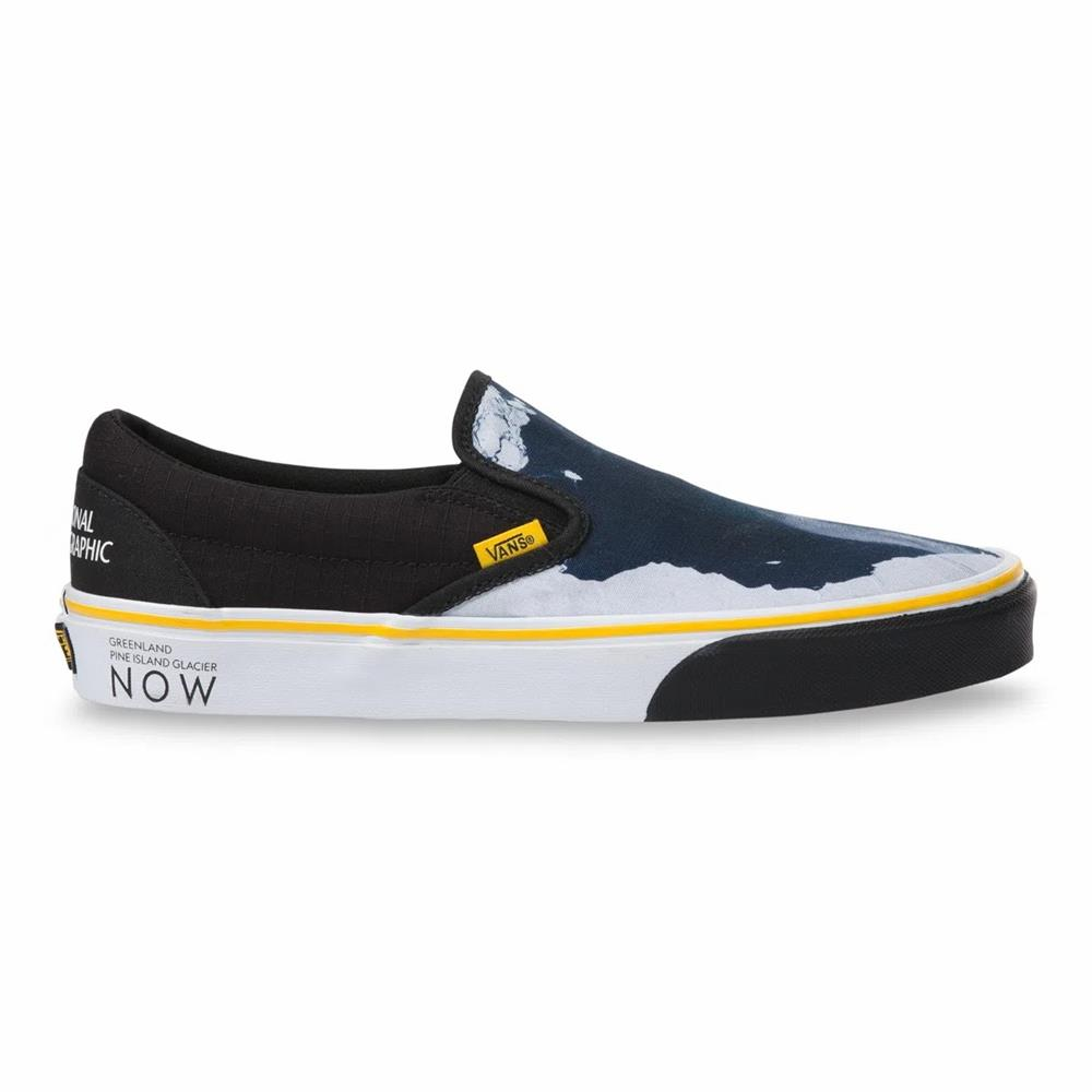 VANS X NATIONAL GEOGRAPHIC CLASSIC SLIP-ON THEN