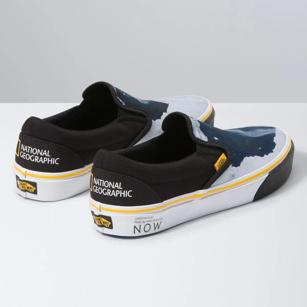 VANS VN - VANS X NATIONAL GEOGRAPHIC CLASSIC SLIP-ON THEN/ VN0A4U3BWK6