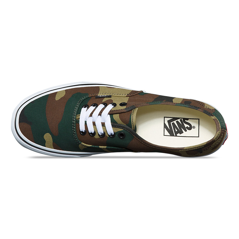 VANS WOODLAND CAMO AUTHENTIC