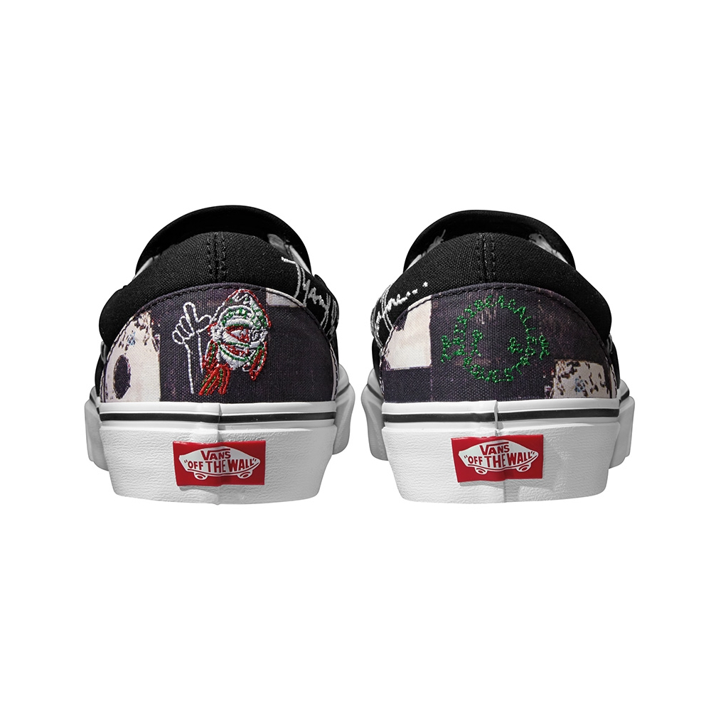 VANS x A TRIBE CALLED QUEST CLASSIC SLIP-ON 'TWO TRIBES UNITE'