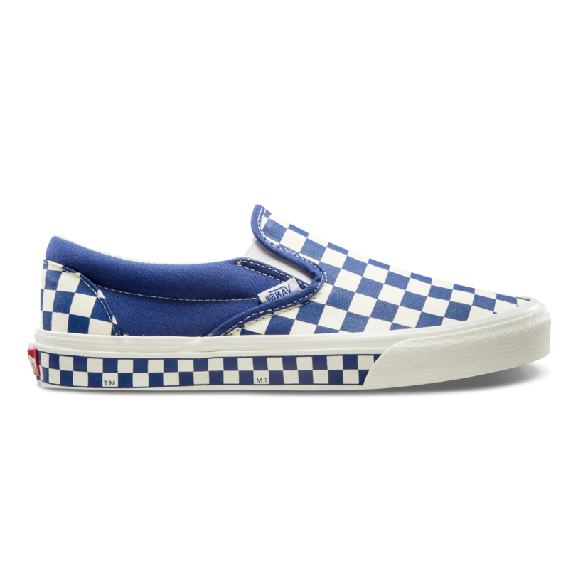 VANS X FOLDER NEXTOR CHECKERBOARD BLUE/WHITE