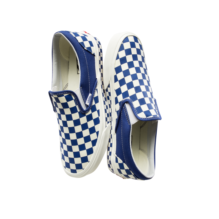 VANS X FOLDER NEXTOR CHECKERBOARD BLUE/WHITE