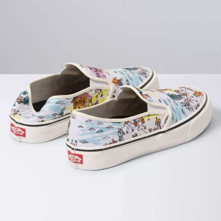 VANS Việt Nam - VANS X KIDE COLLECTION SLIP-ON SF VN0A3MVDWOK