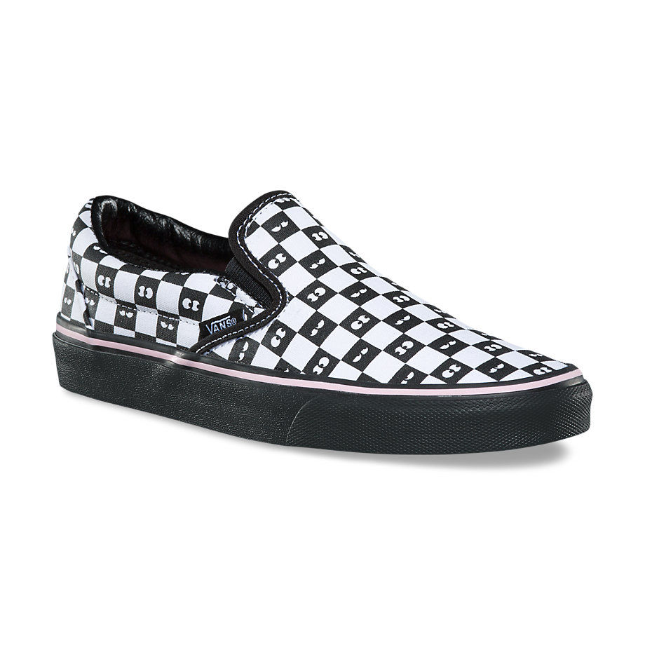 VANS x LAZY OAF CLASSIC SLIP-ON CHECKERBOARD/EYEBALLS VN0A38F7QD0