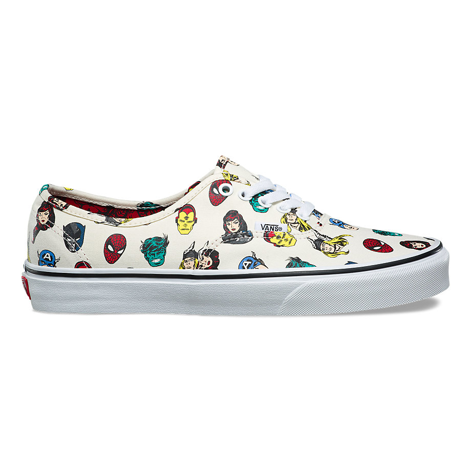 VANS Việt Nam - VANS X MARVEL AUTHENTIC MARVEL HEADS MULTI VN0A38EMRNU