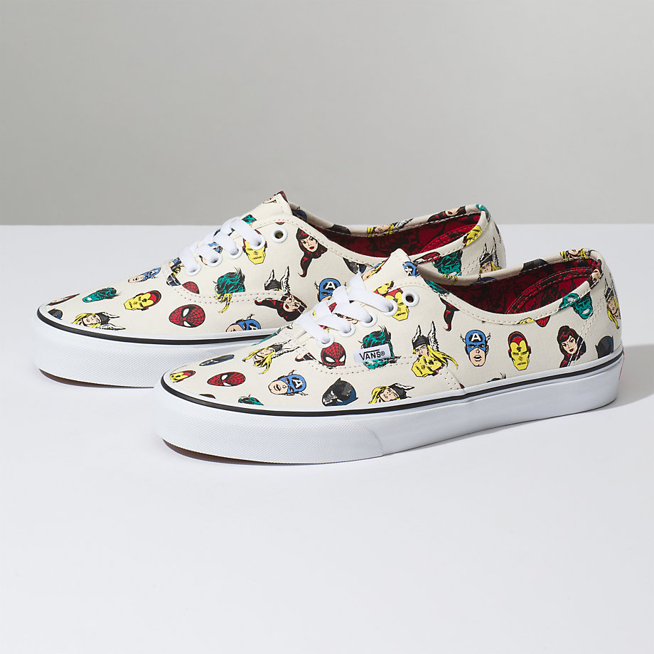 VANS X MARVEL AUTHENTIC MARVEL HEADS MULTI