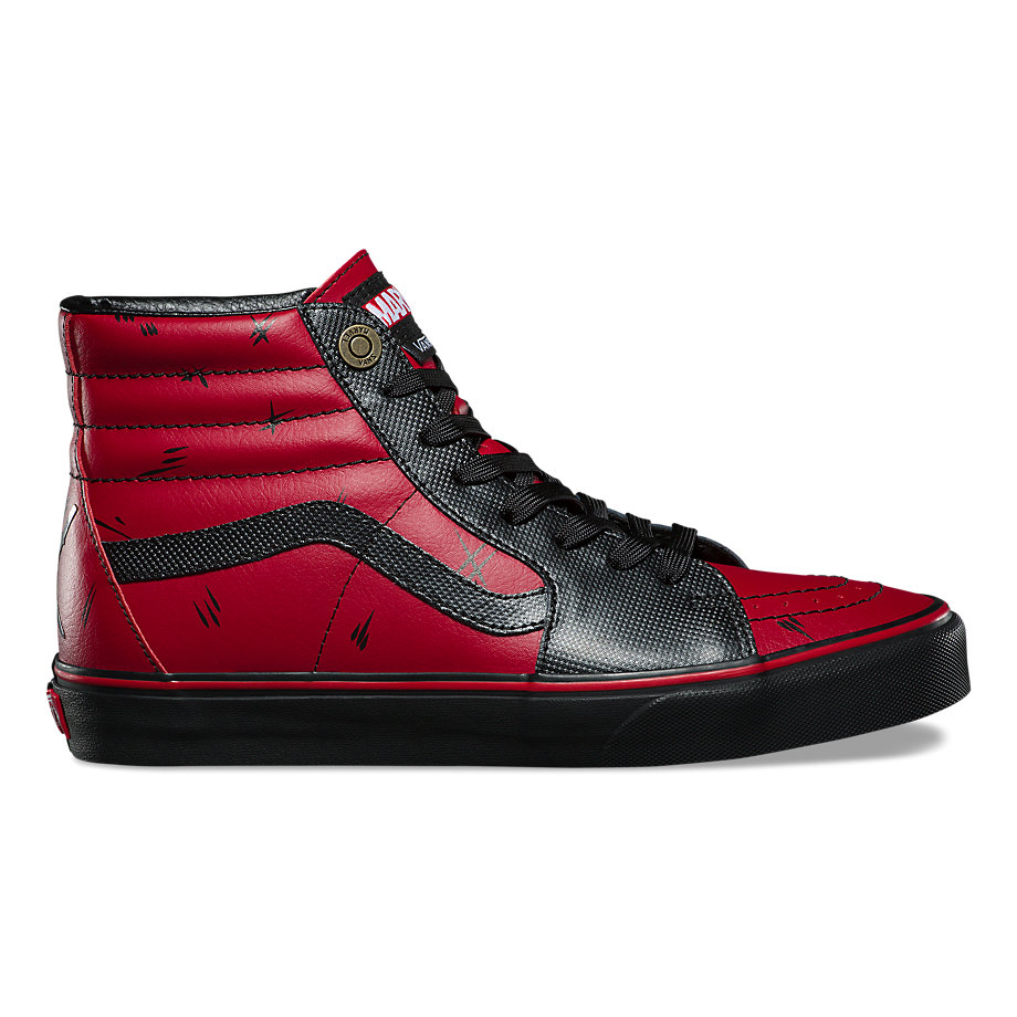 VANS X MARVEL SK8-HI DEADPOOL BLACK