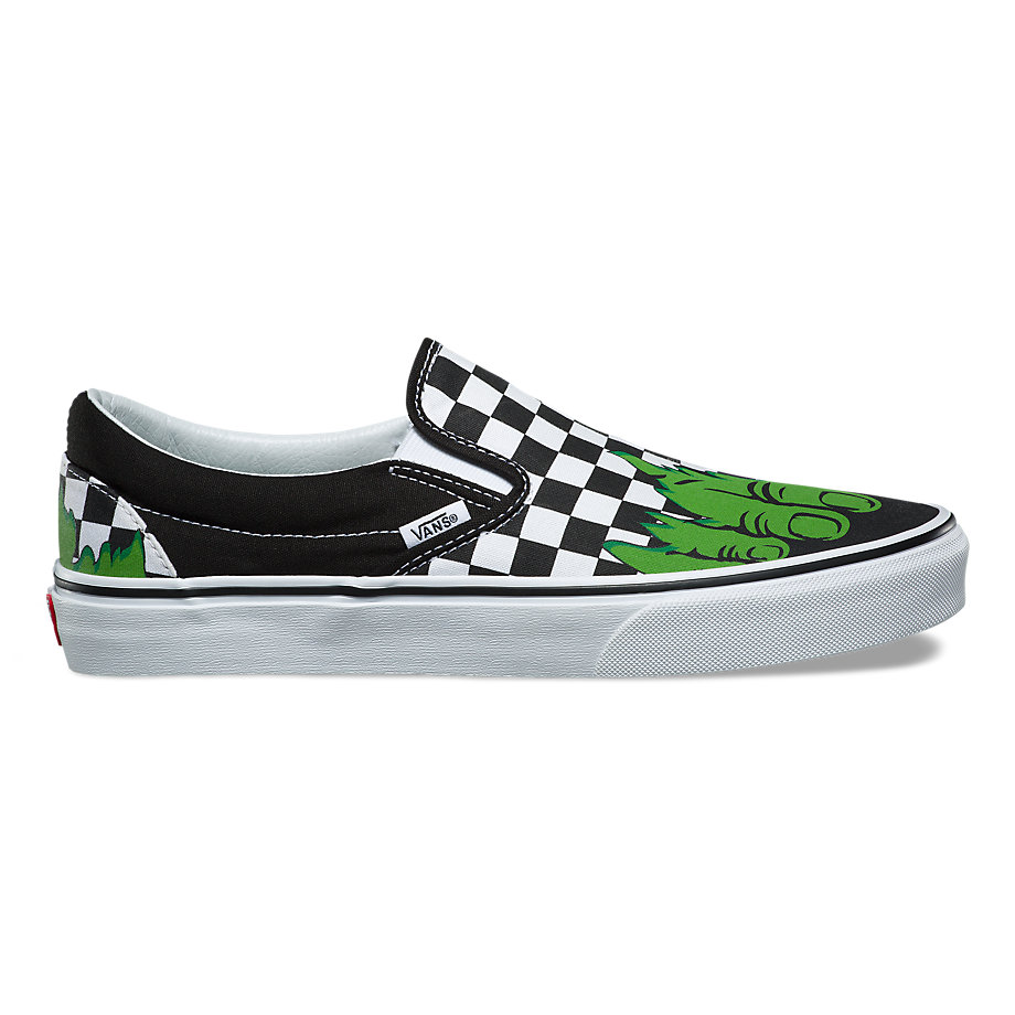 VANS X MARVEL SLIP-ON HULK CHECKERBOARD