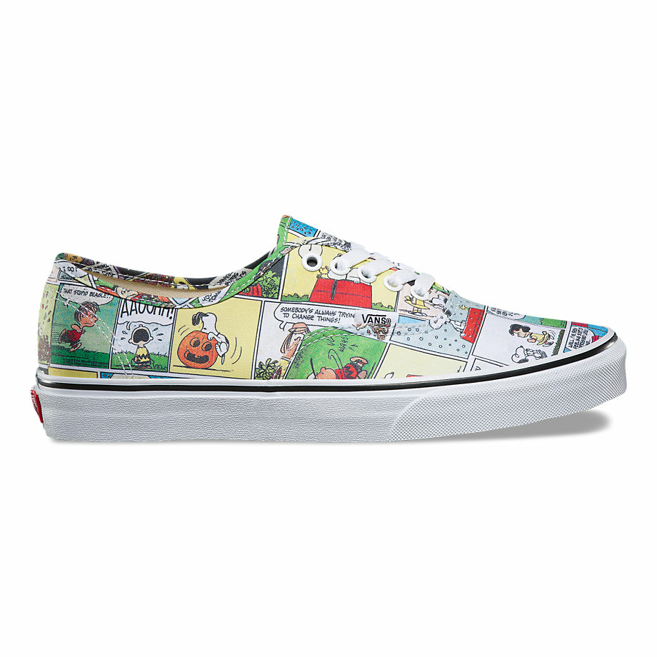 VANS x PEANUTS AUTHENTIC COMICS/BLACK/TRUE WHITE