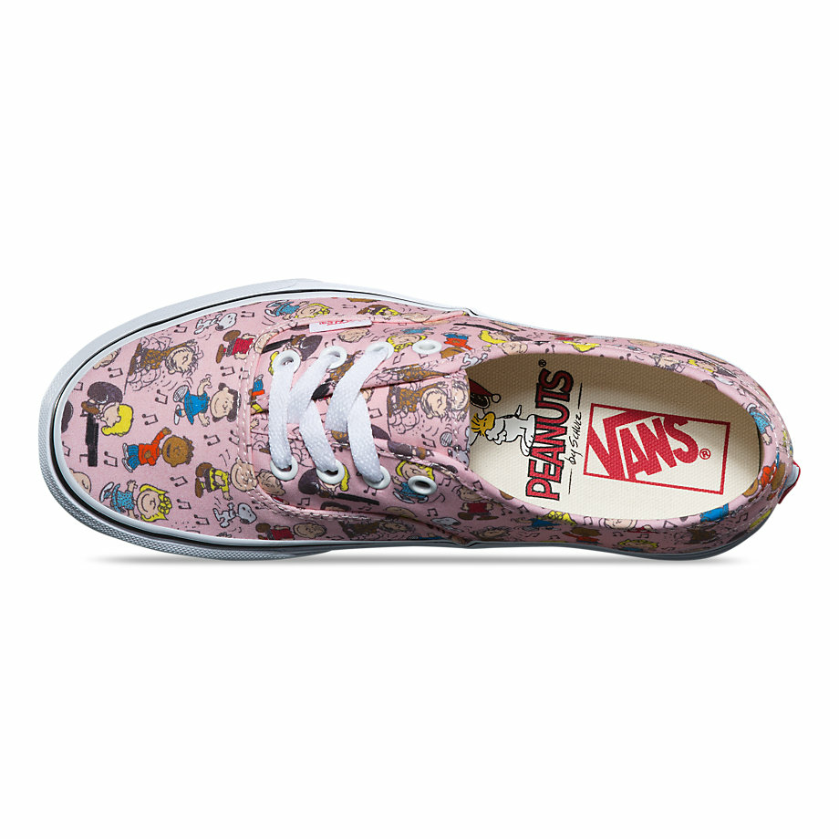VANS Việt Nam - VANS x PEANUTS AUTHENTIC DANCE PARTY/PINK VN0A38EMQQ3