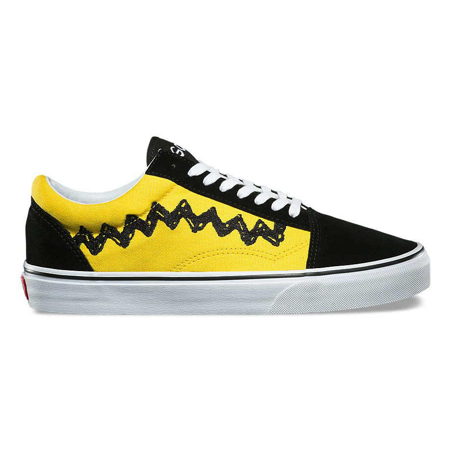 VANS x PEANUTS OLD SKOOL CHARLIE BROWN