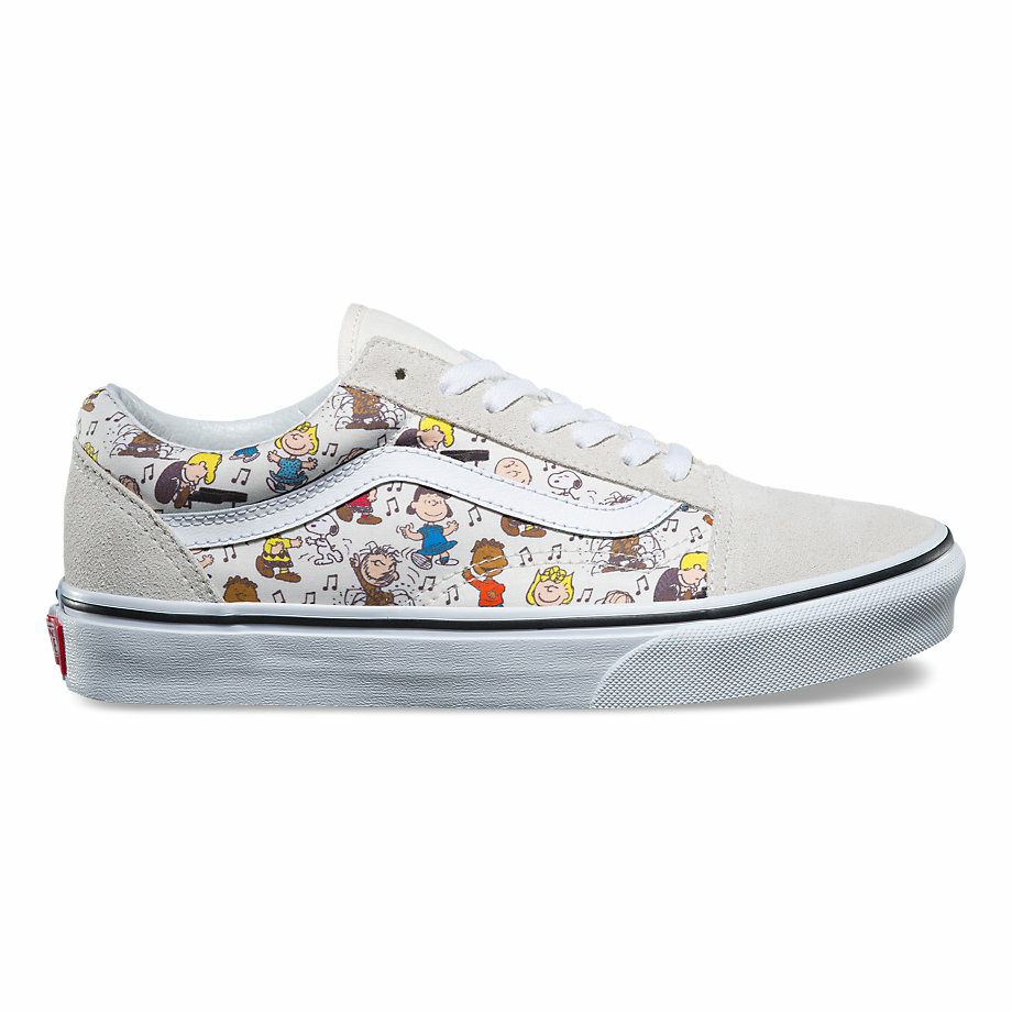 VANS x PEANUTS OLD SKOOL MULTI/TRUE WHITE