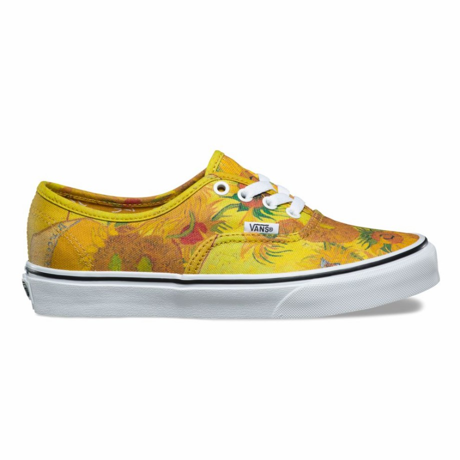 VANS x VAN GOGH AUTHENTIC SUNFLOWERS/TRUE WHITE