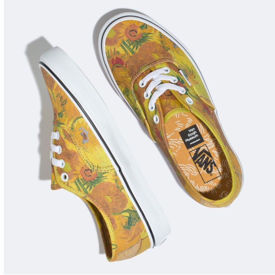 Vans X Van Gogh Authentic Sunflowers/True White VN0A38EMU3W