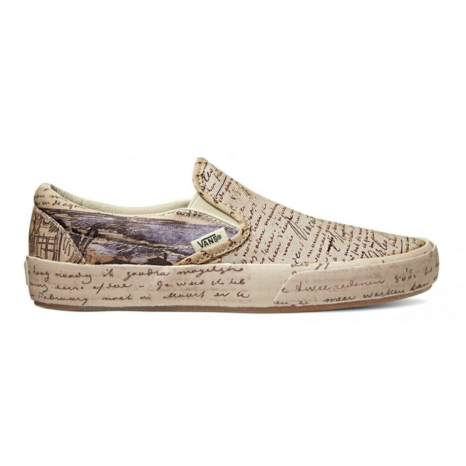 VANS x VAN GOGH SLIP-ON LETTERS/TURTLEDOVE