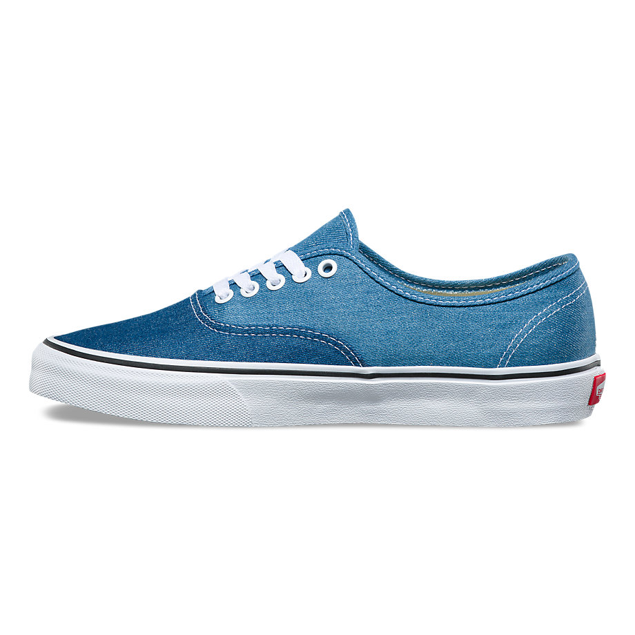 VANS Việt Nam-VANS DENIM 2-TONE AUTHENTIC BLUE TRUE WHITE VN0A38EMQ69