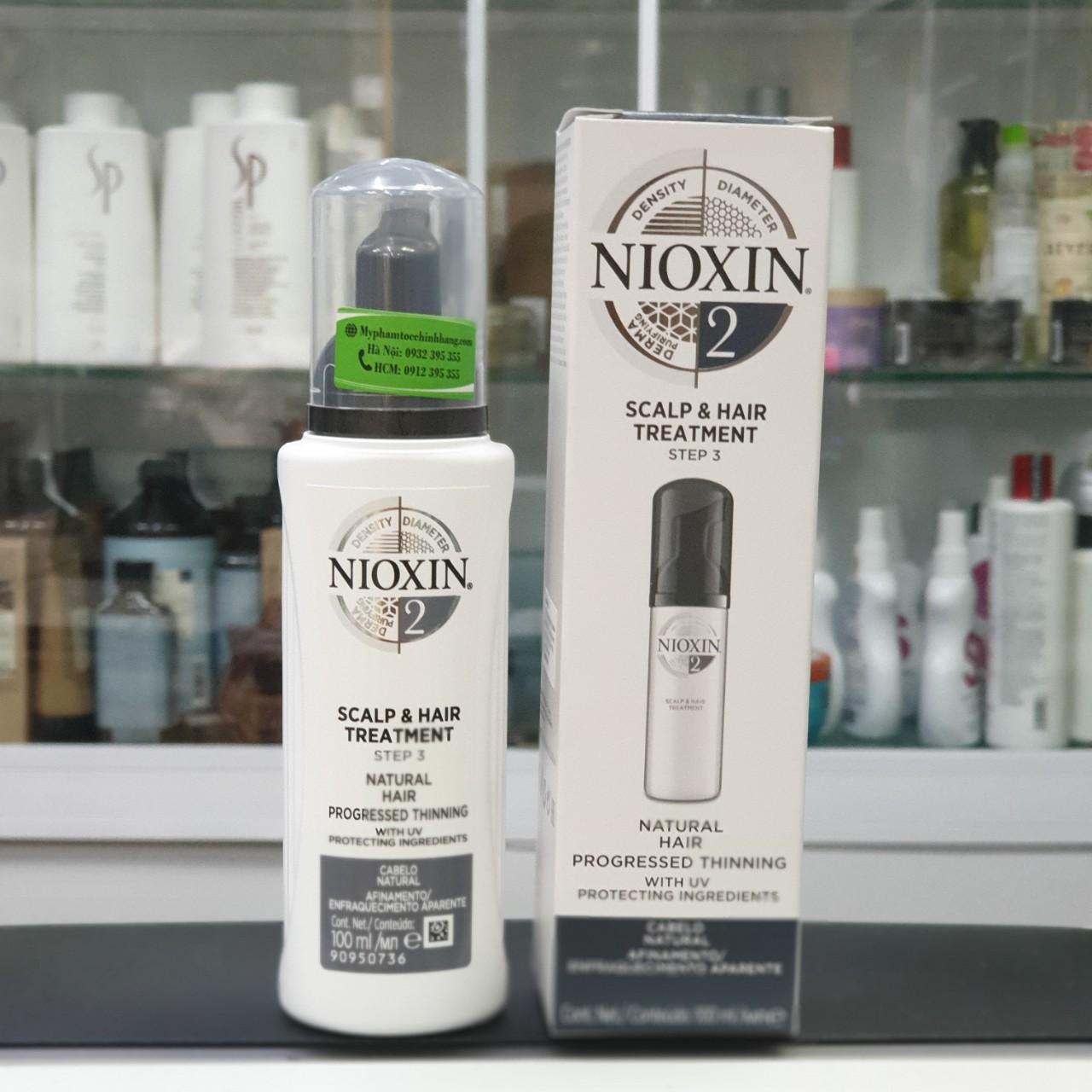 TINH CHẤT ĐIỀU TRỊ CHỐNG RỤNG NIOXIN SCALP TREATMENT 2