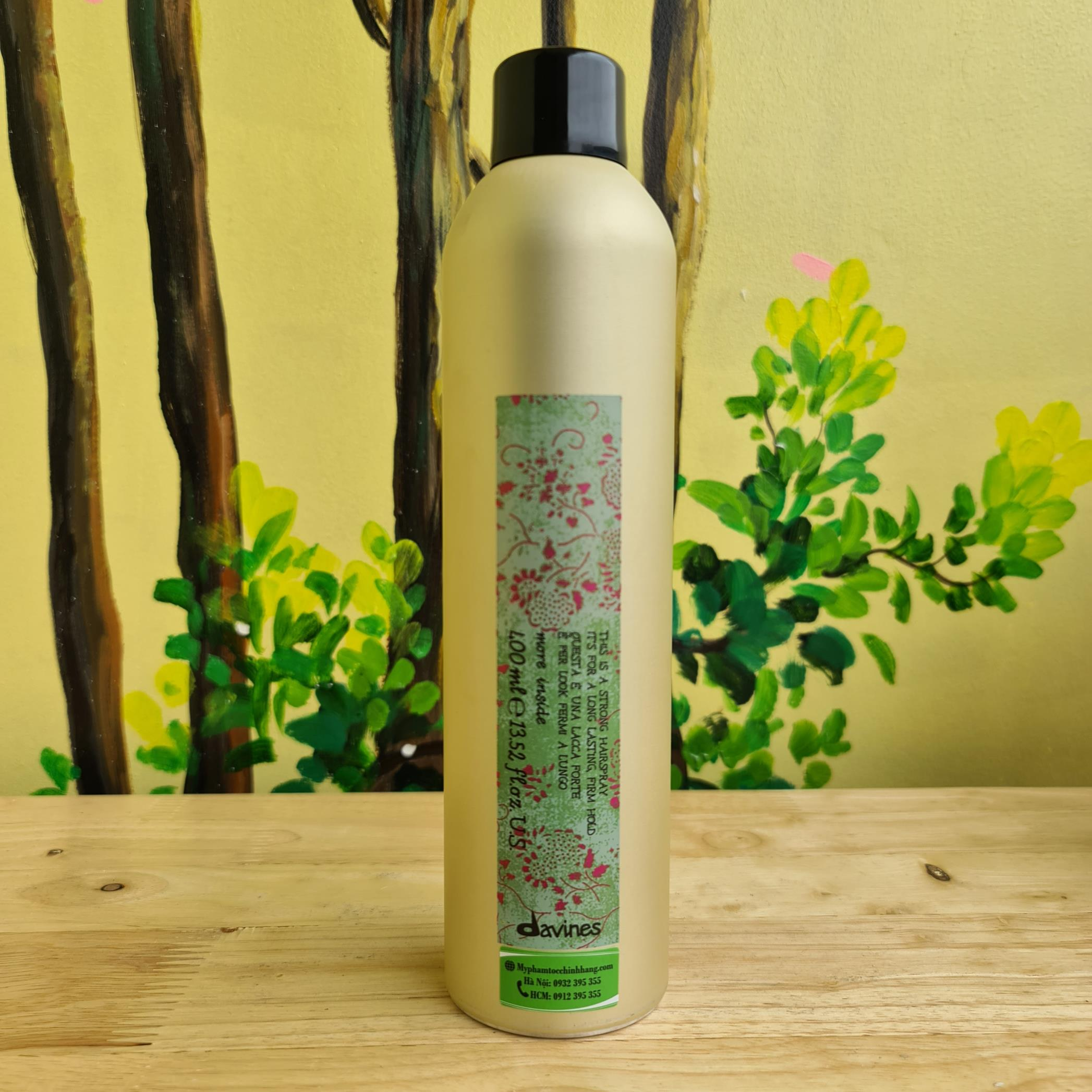 GÔM XỊT CỨNG DAVINES STRONG HAIRSPRAY  400ML
