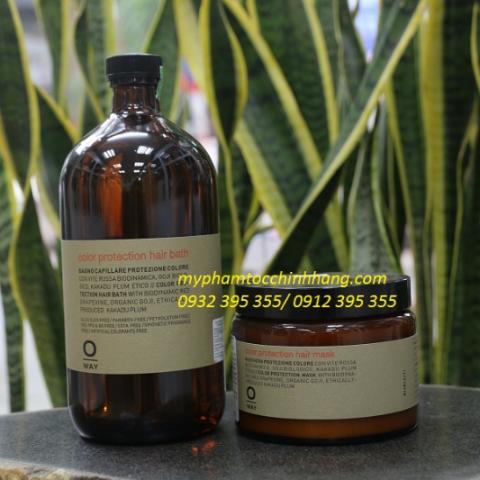 DẦU GỘI BẢO VỆ MÀU NHUỘM OWAY COLOR PROTECTION HAIR BATH 950ML