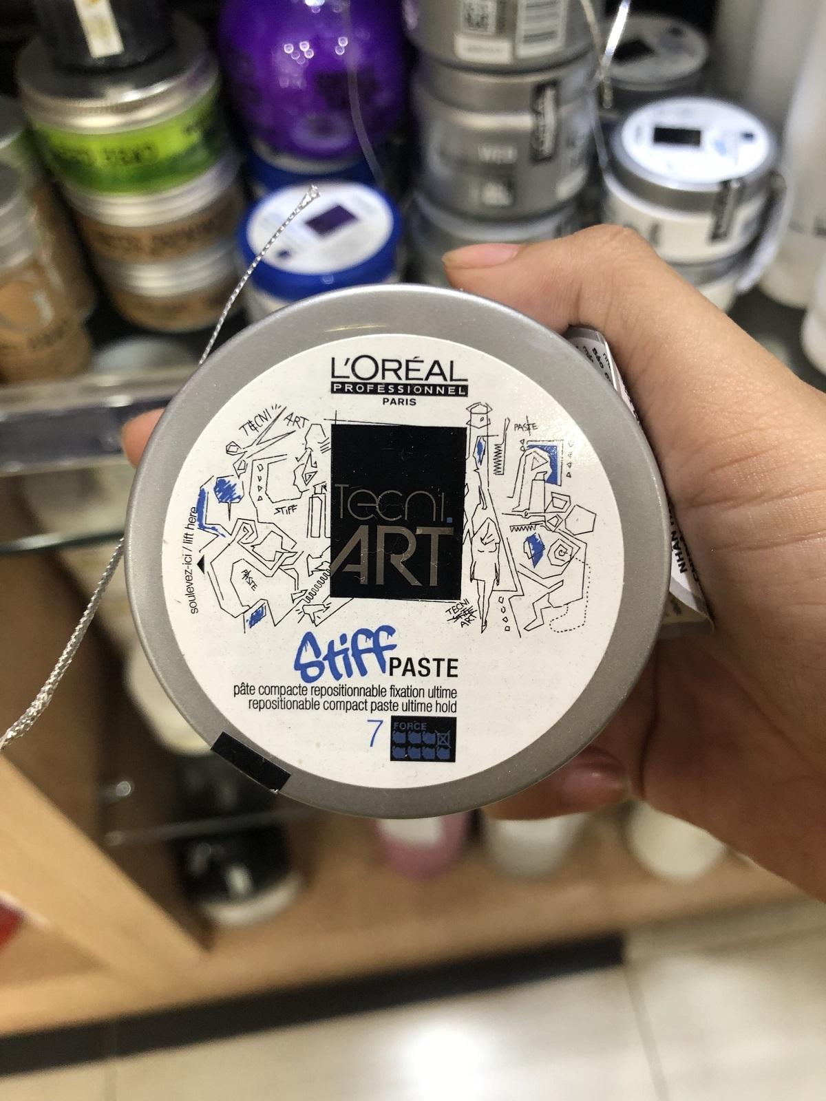 Sáp tạo kiểu siêu cứng L'Oréal Stiff Paste 75ml
