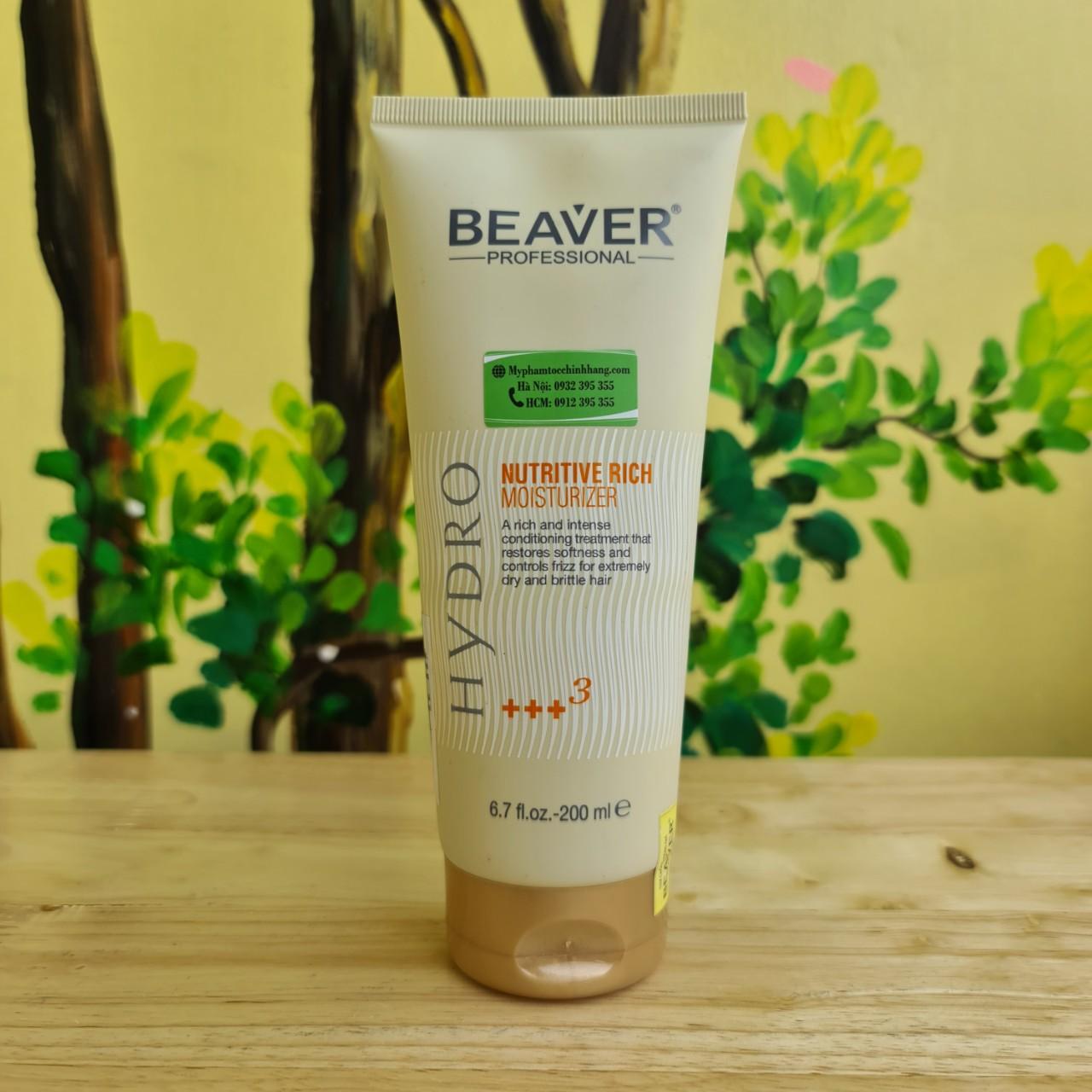 Beaver Hydro Nutritive Rich Moisturizer +++3 200ml
