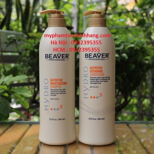 Bộ dầu gội xả siêu dưỡng Beaver