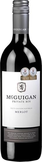 McGuigan Private Bin Merlot rượu vang Úc có mùi thơm đặc biệt