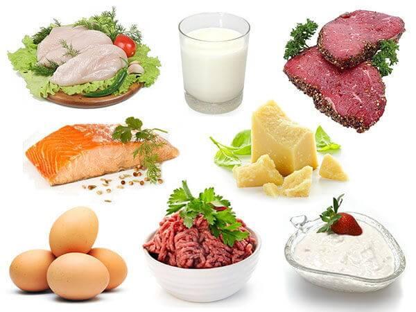 Protein la gi thuc pham cung cap protein