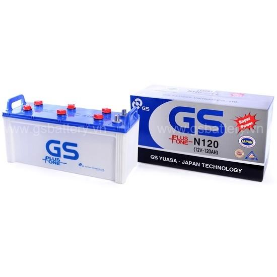 Ắc quy GS N120 (120Ah)
