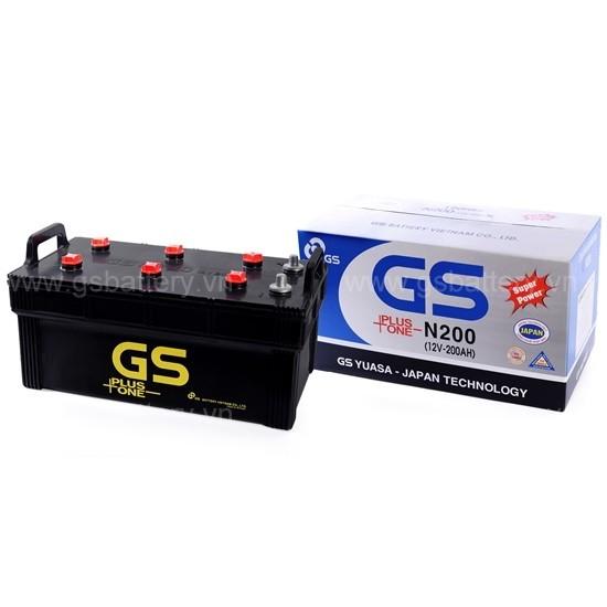 Ắc quy GS N200 (200Ah)