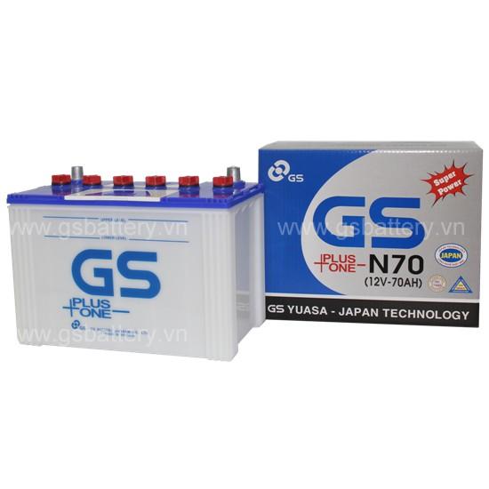 Ắc quy GS N70 (70Ah)