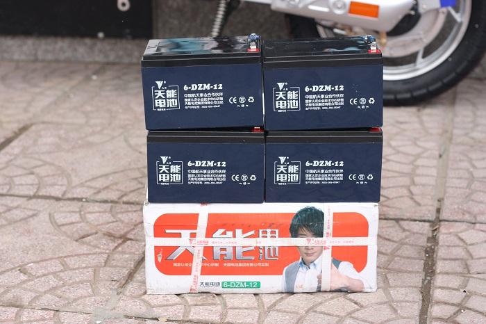 Ắc quy xe đạp điện Tianneng 48V-12Ah