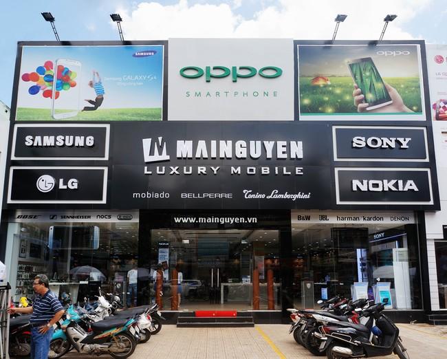 Biển quảng cáo sửa chữa điện thoại không nên quá phức tạp