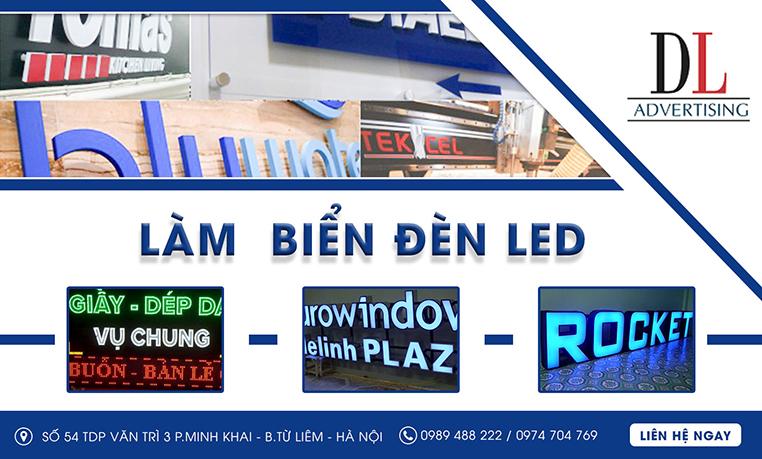 Công ty làm biển quảng cáo tại Hà Nội