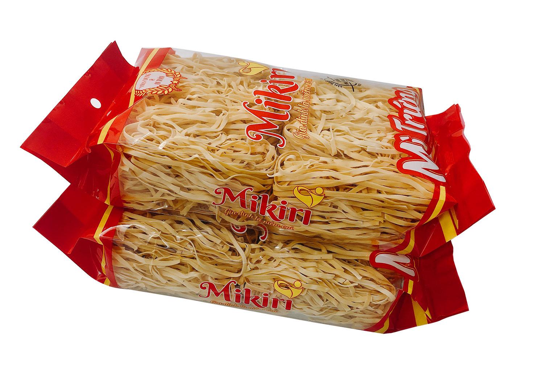 Mỳ trứng không phẩm màu Mikiri ( Sợ dẹp)