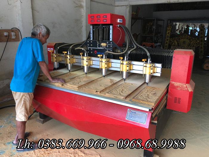 Làng nghề mộc ở Long An - Đồng Tháp đã sử dụng máy khắc gỗ ra sao