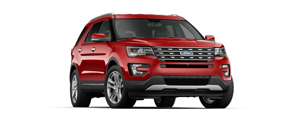 Ford New Explorer 2017
