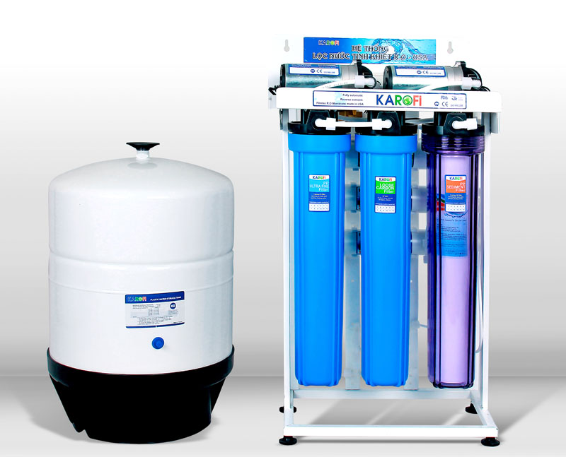 Máy lọc nước Karofi công suất 50L/giờ