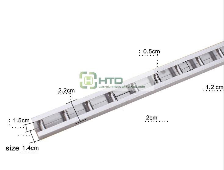 Thanh ray gắn ường HTD-A01