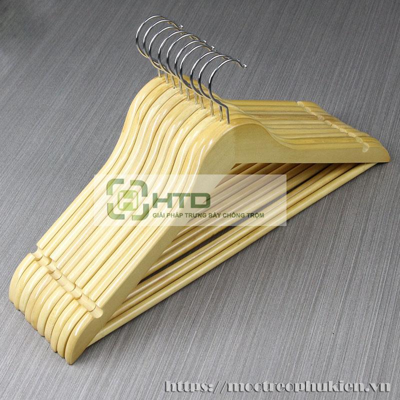 móc gỗ treo quần áo