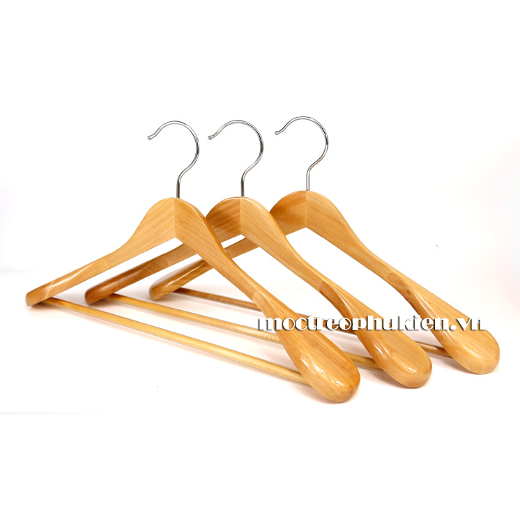 móc treo áo gỗ