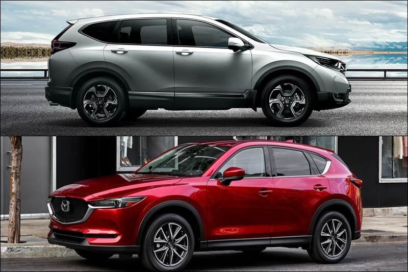 So sánh CR-V và CX-5, Honda CR-V, Mazda CX-5