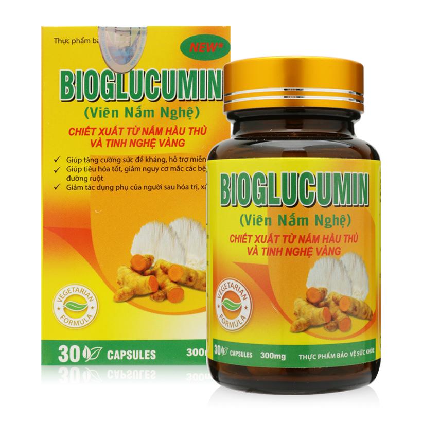 TPBVSK Viên Nấm Nghệ Bioglucumin