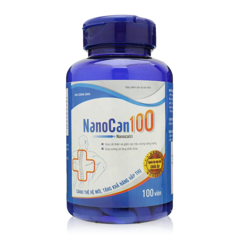 TPBVSK Viên canxi nano  Nanocan100