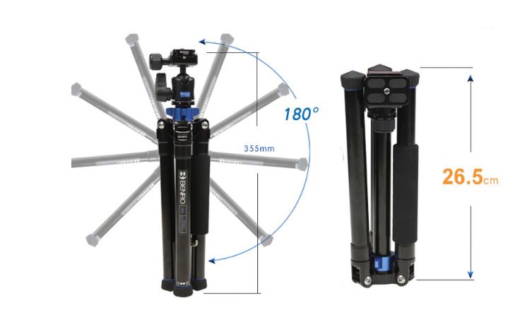 Chân máy ảnh Benro IS05 đa năng