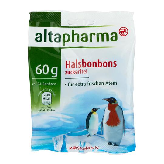 Kẹo Ngậm Giảm Ho, Rát Họng Altapharma